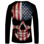 American Warrior T-Shirt Long Sleeve