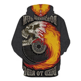 Harley Davidson Mens Skull Hoodie For Sale