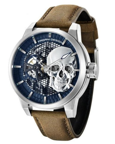 Mens Skull And Crossbones Watch
