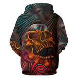 Graphic Skull Hoodies