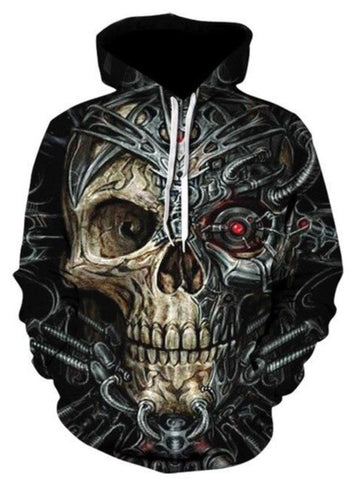 Hoodie With A Skull