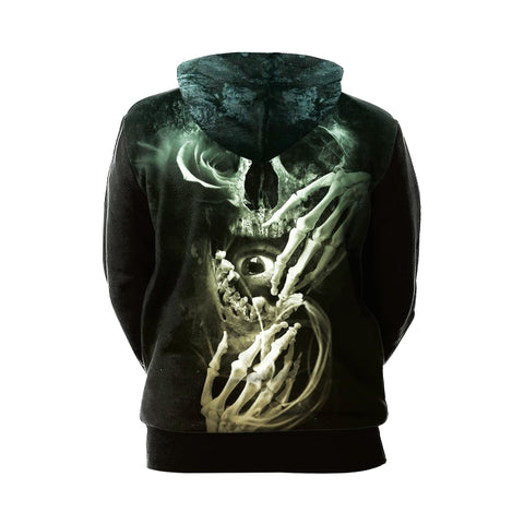 Skull Glow In The Dark Hoodie