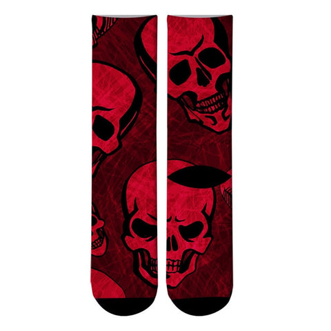 Red Skull Socks