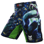 Mens Skull Print Board Shorts