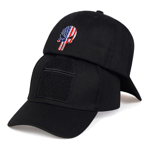 punisher flag hat