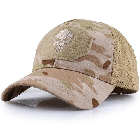 punisher military hat