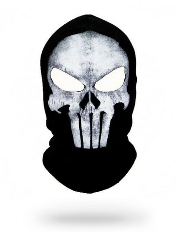 Punisher Skull Balaclava