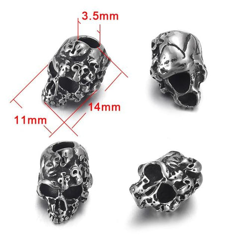 Punisher Skull Beads | Skull Action