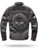 Punisher Skull Leather Jacket
