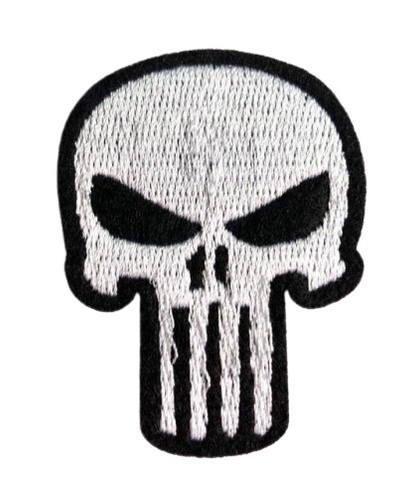 Punisher Skull Military Patch