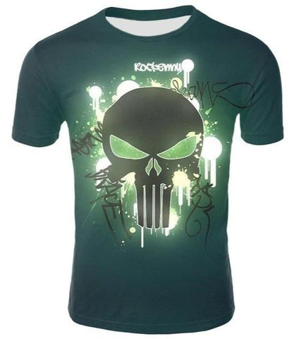 Punisher Skull Tee Shirt