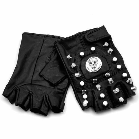 Punk Skull Gloves