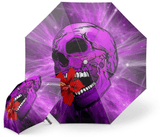 Purple Skull Umbrella