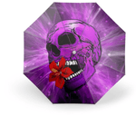 Purple Skull Umbrella | Skull Action