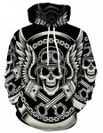 raiders skull sweatshirt
