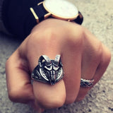 Ram Skull Ring | Skull Action