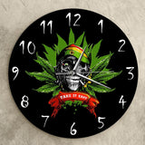 Rasta Clock | Skull Action