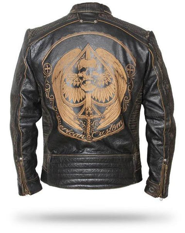 reaper leather jacket