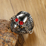 Red Eye Ring | Skull Action
