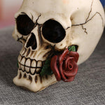 Red Rose Skull | Skull Action