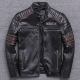 Red Skull Leather Jacket | Skull Action