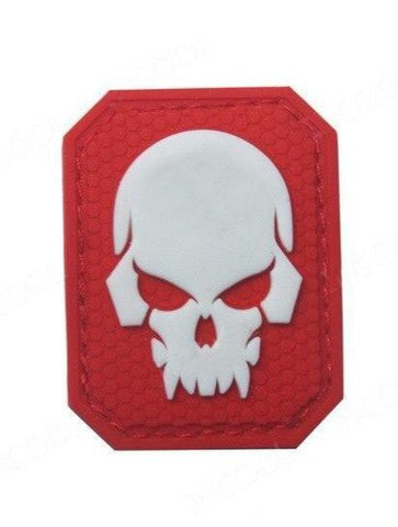 Red Skull Military Patch
