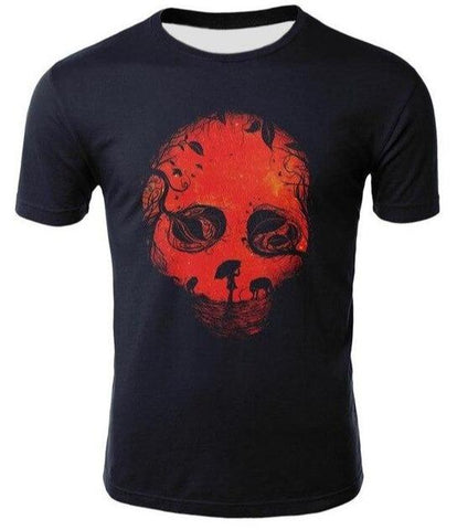 Red Skull T Shirts