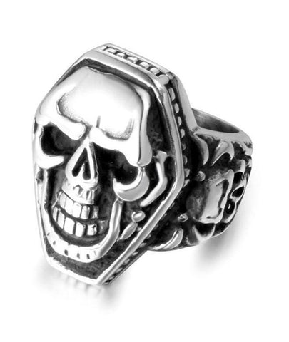 retro punk ring
