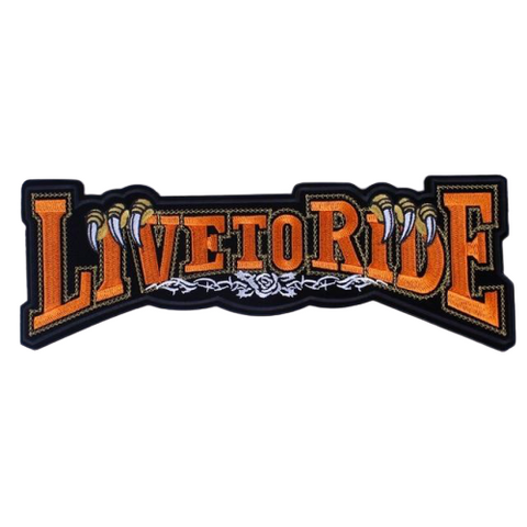 Ride To Live Patch