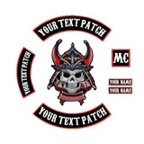 Samurai Skull Patch | Skull Action