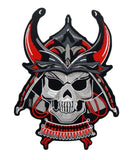 Samurai Skull Patch