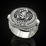 Scorpio Constellation Ring | Skull Action