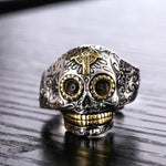 Silver Mexican Skull Ring | Skull Action