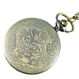 Silver Skull Pocket Watch | Skull Action