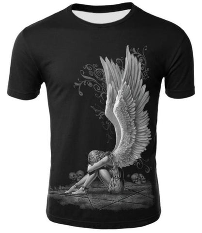 sinful angel wings shirt