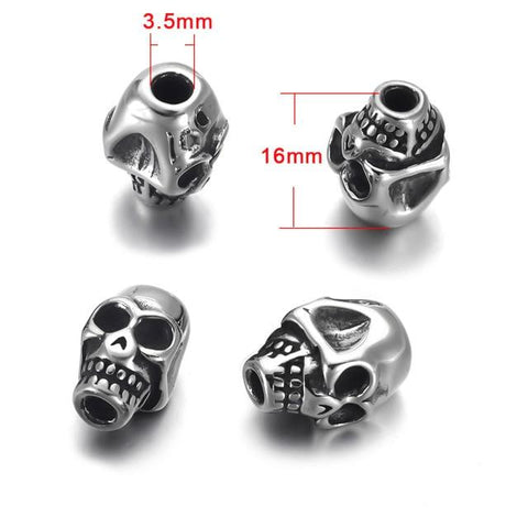 Skeleton Bracelet Beads | Skull Action