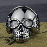 Skeleton Skull Ring | Skull Action