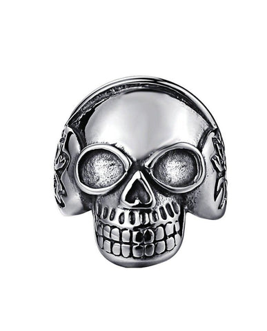 Skeleton Skull Ring