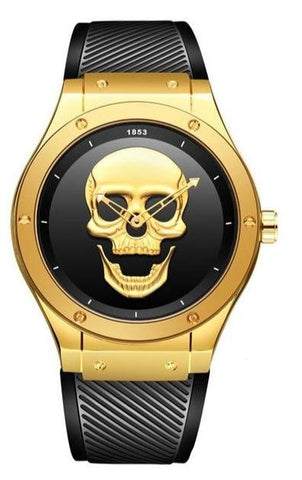 Skeleton Watch Gold And Black
