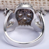 Skull And Crossbones Wedding Ring | Skull Action