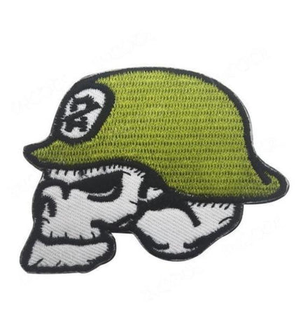 Skull Army Patch