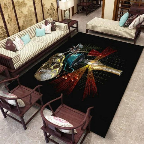 Skull Art Carpet