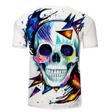 Skull Artwork T-Shirt | Skull Action