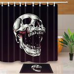 Skull Bathroom Shower Curtain