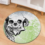 Skull Carpet Art