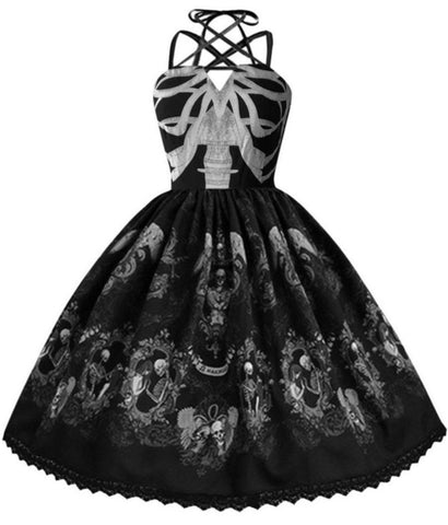 Skull Corset Dress