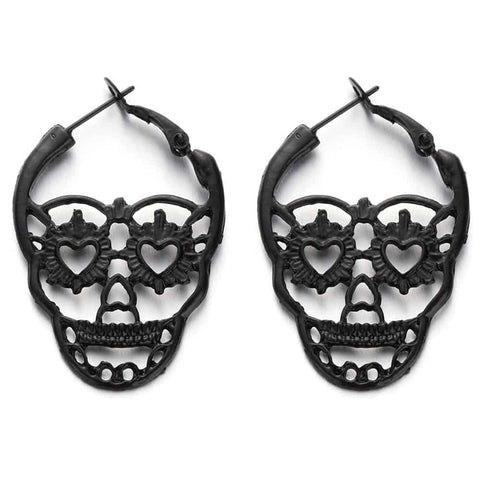 Skull Earrings Calavera