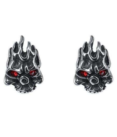 Skull Earrings Cheap
