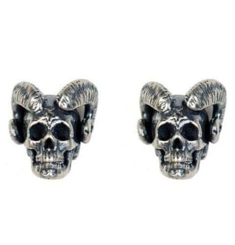 Skull Earrings For Guys