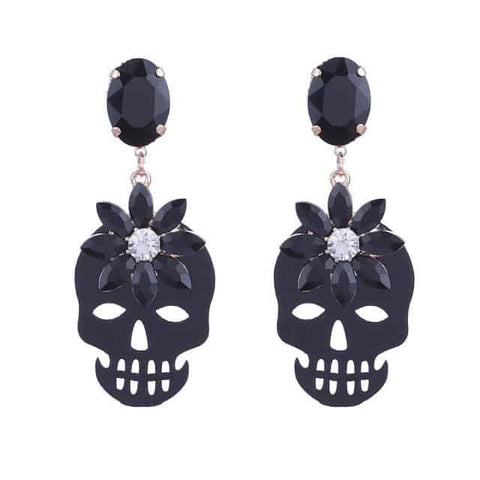 Skull Fashion Earrings | Skull Action